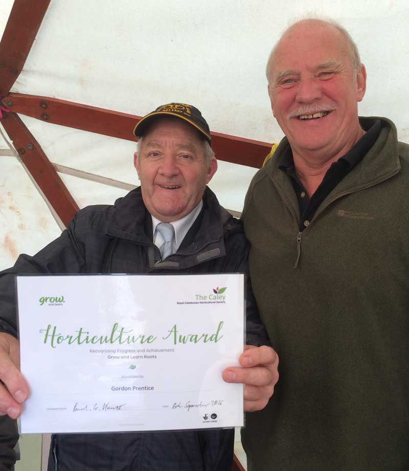 Roots Horticultural Award